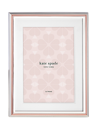 rosy glow 5x7 frame by kate spade new york non-hover view