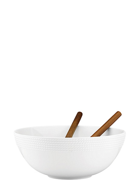 wickford salad set with wooden servers by kate spade new york