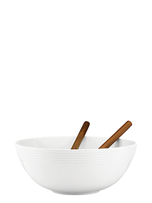 wickford salad set with wooden servers by kate spade new york non-hover view