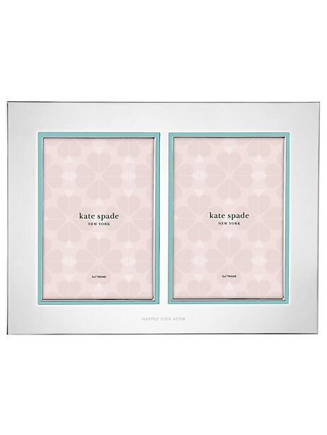 take the cake double invitation frame by kate spade new york