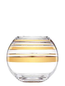 hampton street rosebowl, gold, medium
