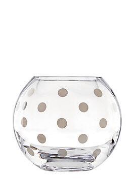 pearl place platinum rosebowl, silver, medium