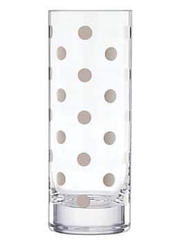 pearl place platinum vase, silver, medium