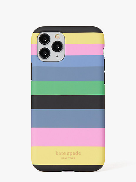 enchanted stripe iphone 11 pro case by kate spade new york