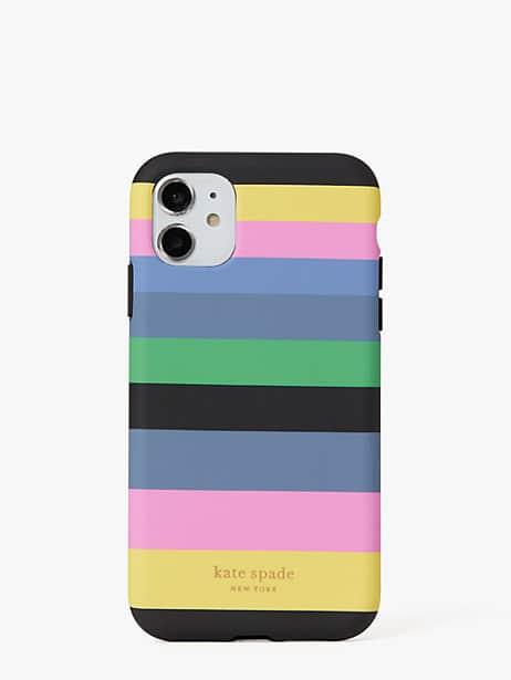 Enchanted stripe iphone 11 case | Kate Spade New York