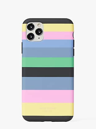 enchanted stripe iphone 11 pro max case by kate spade new york non-hover view