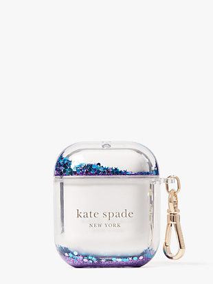 glitter airpods case by kate spade new york non-hover view
