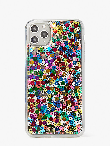 sequin iphone 11 pro max case by kate spade new york