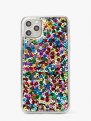 sequin iphone 11 pro max case by kate spade new york non-hover view