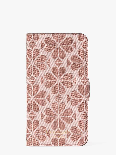 Kate Spade SPADE FLOWER COATED CANVAS IPHONE 11 PRO MAGNETIC WRAP FOLIO CASE
