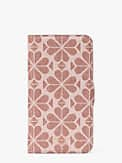 spade flower coated canvas iphone 11 pro magnetic wrap folio case, , s7productThumbnail