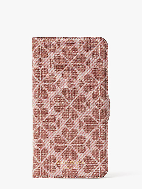 Kate Spade SPADE FLOWER COATED CANVAS IPHONE 11 PRO MAX MAGNETIC WRAP FOLIO CASE
