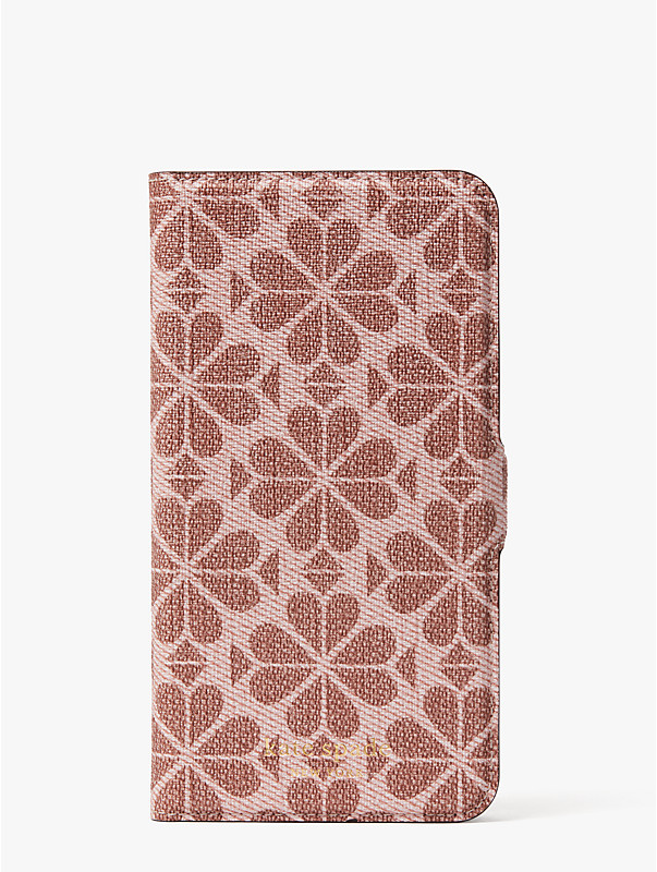 spade flower coated canvas iphone 11 pro max magnetic wrap folio case, , rr_large