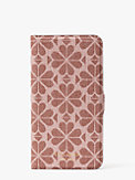spade flower coated canvas iphone 11 pro max magnetic wrap folio case, , s7productThumbnail