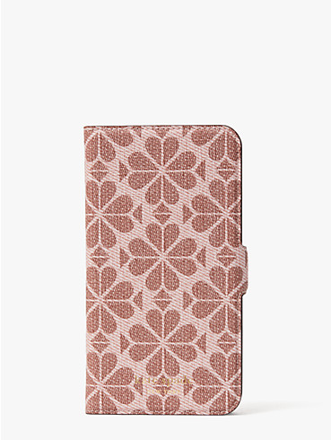 spade flower coated canvas iphone 11 magnetic wrap folio case, , rr_productgrid