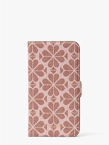 Spade Flower Umschlaghülle aus beschichtetem Canvas für iPhone11, magnetisch, , rr_productgrid