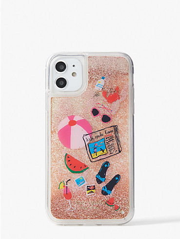 pool party liquid glitter iphone 11 case, , rr_productgrid