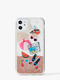 pool party liquid glitter iphone 11 case, , s7productThumbnail