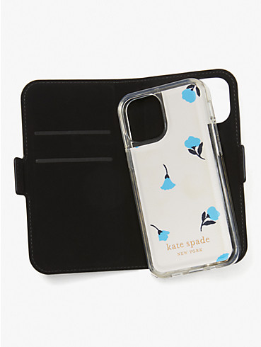dainty bloom iphone 12 mini magnetic wrap folio case , , rr_productgrid