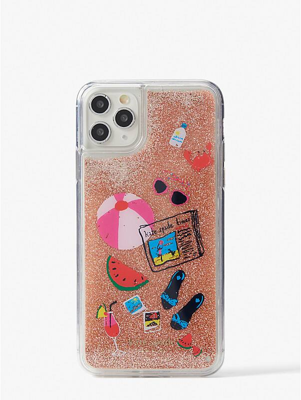 pool party liquid glitter iphone 11 pro max case, , rr_large