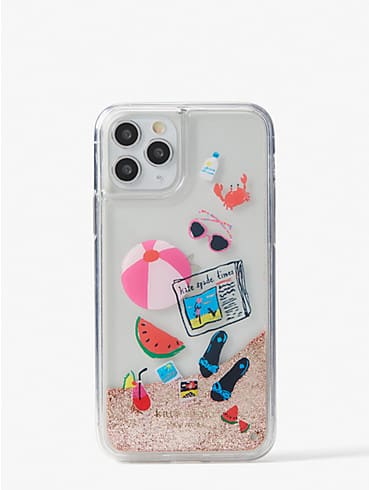 pool party liquid glitter iphone 11 pro case, , rr_productgrid
