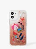 pool party liquid glitter iphone 12 mini case, , s7productThumbnail