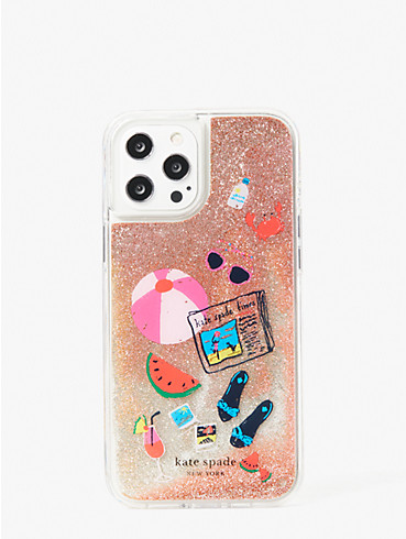 pool party liquid glitter iphone 12 pro max case, , rr_productgrid