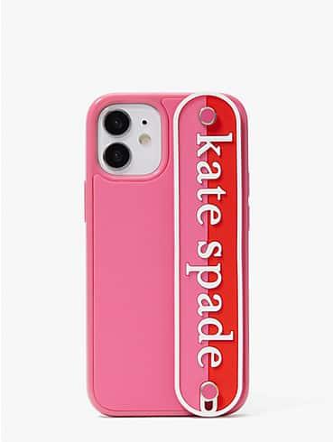 logo strap iphone 12 mini case, , rr_productgrid