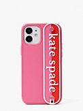 logo strap iphone 12 mini case, , s7productThumbnail