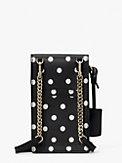 spencer sunshine dot north south phone crossbody, , s7productThumbnail