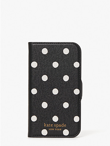 sunshine dot iphone 12 mini magnetic wrap folio case, , rr_productgrid