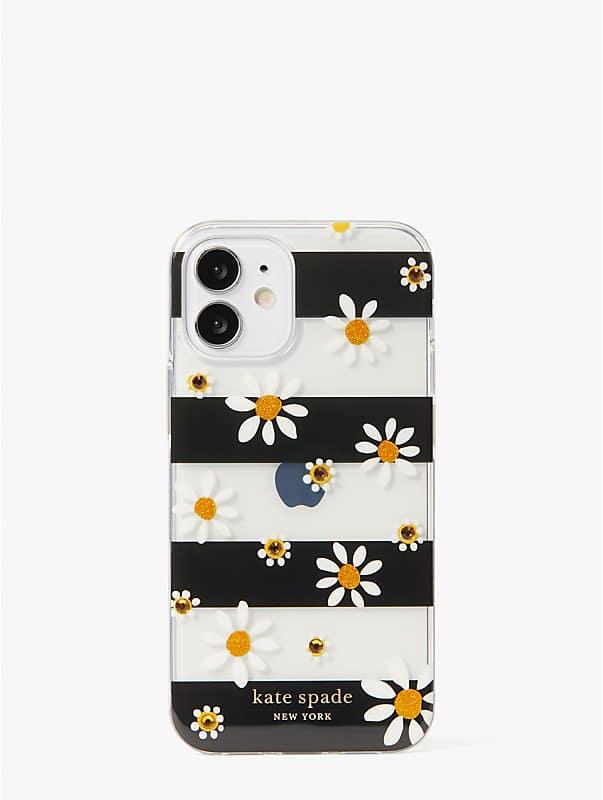 jeweled daisy dots iphone 12 mini case, , rr_large