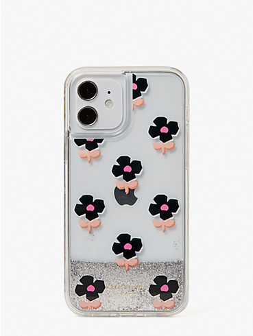 block floral iphone 12/12 pro case, , rr_productgrid