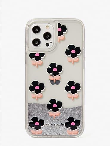 block floral iphone 12 pro max case, , rr_productgrid