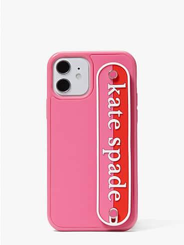 logo strap iphone 12/12 pro case, , rr_productgrid