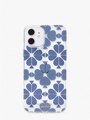 tonal spade flower iphone 12/12 pro case, , rr_productgrid