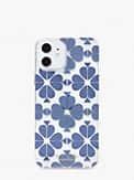 Tonal Spade Flower Hülle für iPhone12/12Pro, , s7productThumbnail