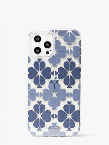 tonal spade flower iphone 12 pro max case, , rr_productgrid
