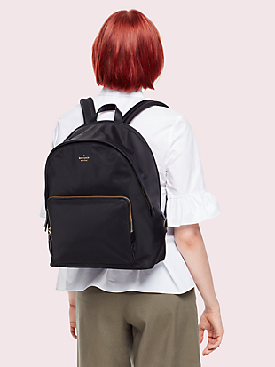 "15"" nylon tech backpack by kate spade new york hover view"