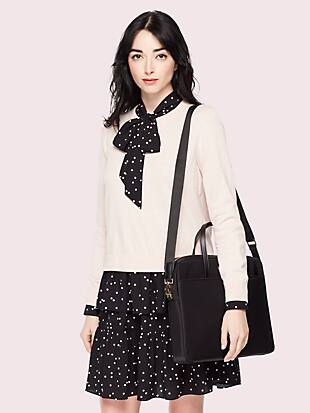 universal nylon slim laptop case by kate spade new york hover view