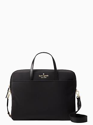 universal nylon slim laptop case by kate spade new york non-hover view