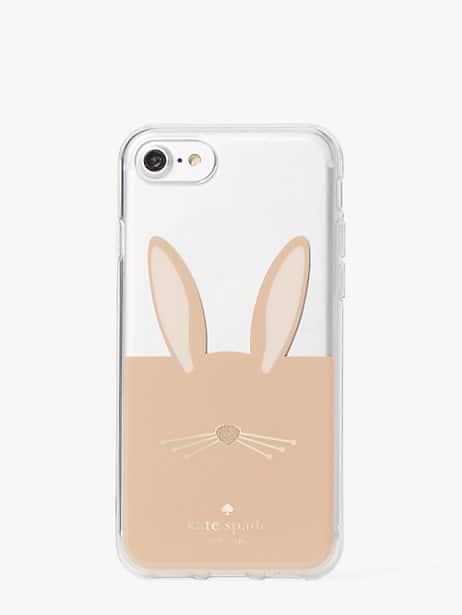 rabbit appliqué iphone 8 case by kate spade new york