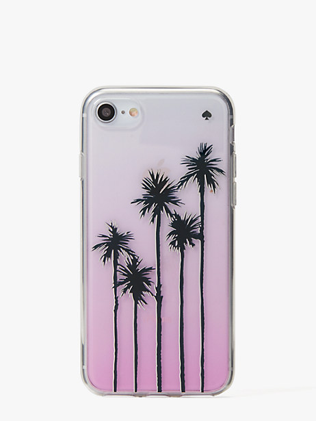 palm tree ombre iphone 7 & 8 case by kate spade new york