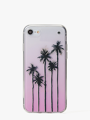 palm tree ombre iphone 7 & 8 case by kate spade new york non-hover view