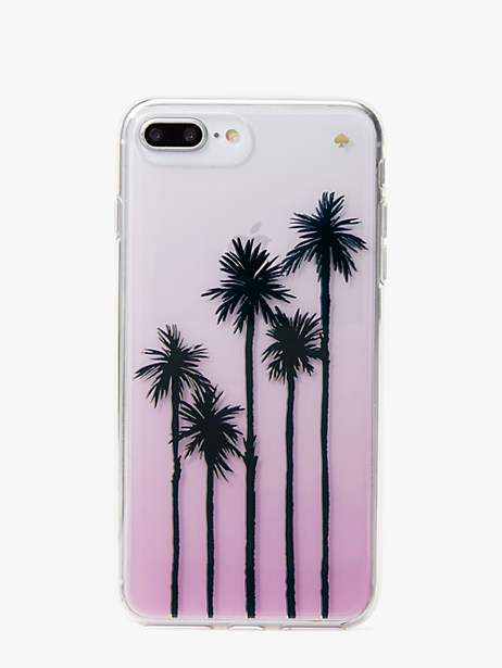 palm tree ombre iphone 7 & 8 plus case by kate spade new york