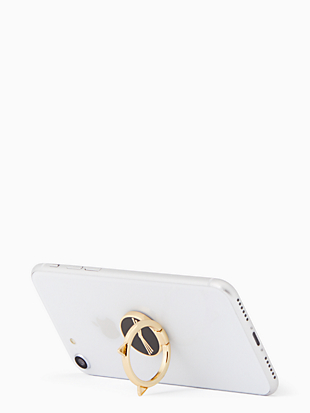 cat ring stand by kate spade new york hover view