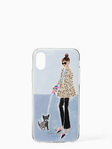 brooklynite iphone x & xs case by kate spade new york