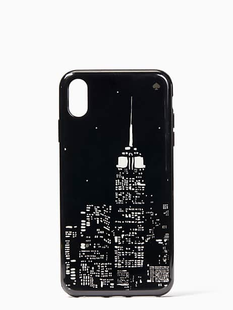 glow in the dark skyline iphone xs max case by kate spade new york