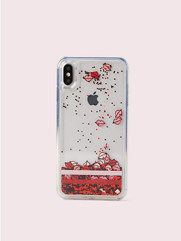 lips liquid glitter iphone xs max case, , rr_productgrid