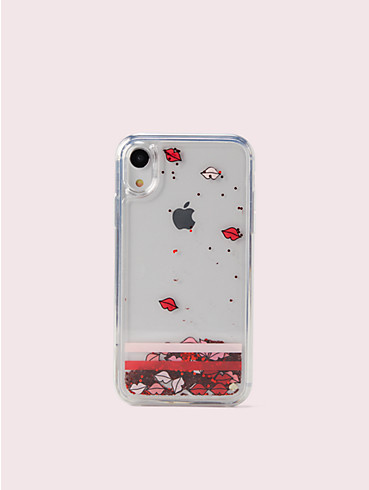 lips liquid glitter iphone xs case, , rr_productgrid